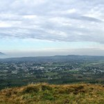 Overlooking Foxford from Braid