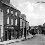 Vintage Looking Down Main Street