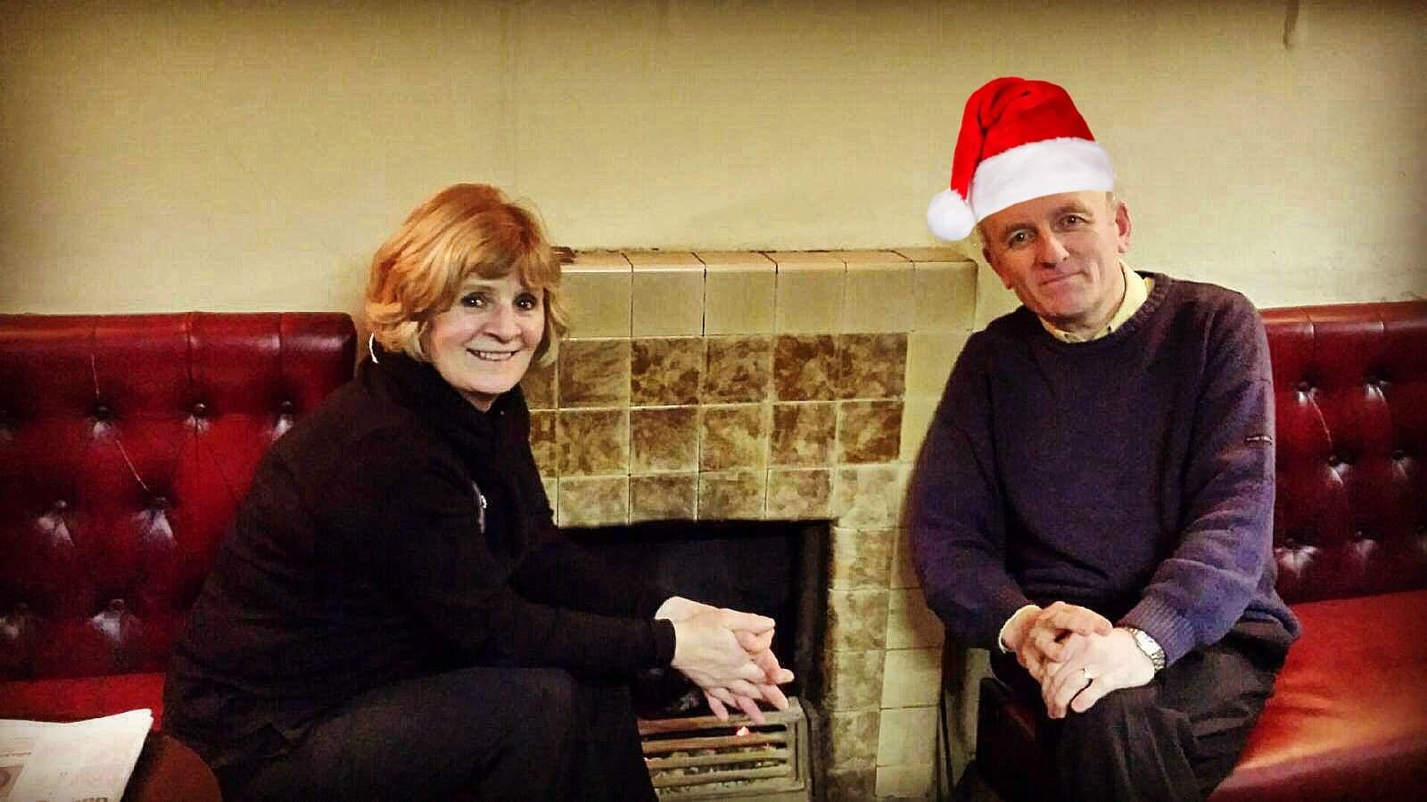 Martha and Pat Christmas