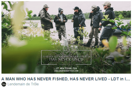 A MAN WHO HAS NEVER FISHED, HAS NEVER LIVED